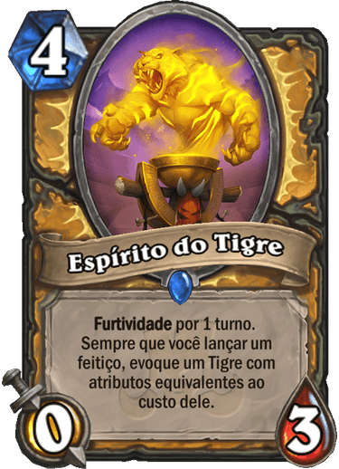 Espírito do Tigre Card