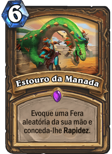 Estouro da Manada Card
