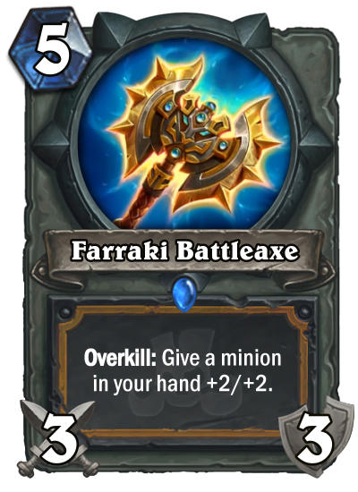 Farraki Battleaxe Card Reveal