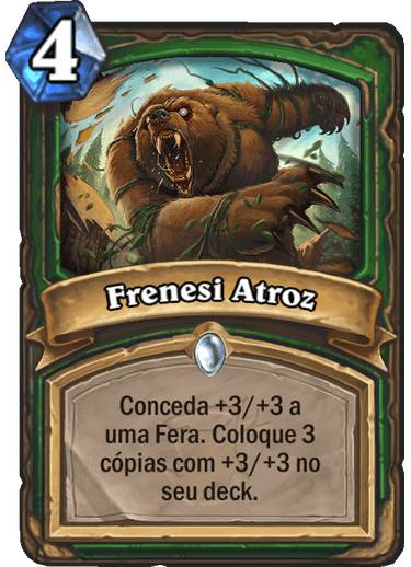 Frenesi Atroz Card