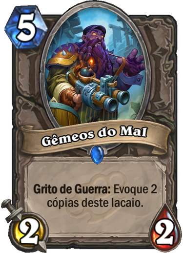 Gêmeos do Mal Card