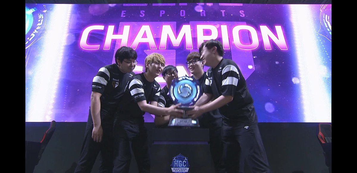 Gen. G Campeã do HOTS