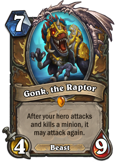 Gonk The Raptor Reveal
