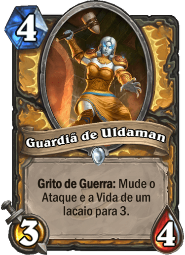 Guardiã de Uldaman Card