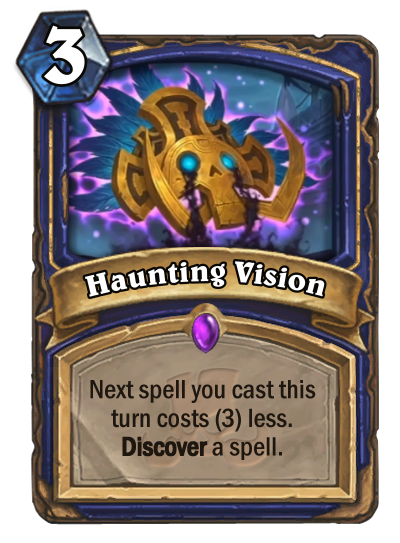 Haunting Vision Reveal