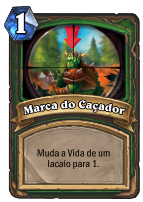 Marca do Caçador Card PTBR