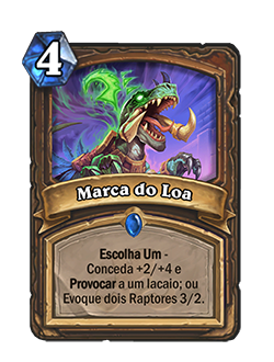 Marca do Loa Card Reveal