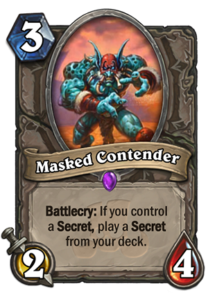 Masked Contender Card Reveal
