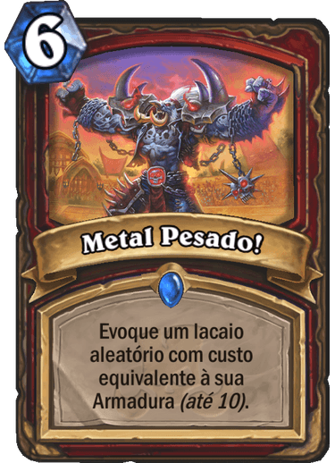 Metal Pesado Card