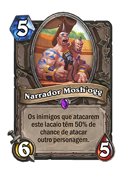 Narrador Mosh'ogg Card Reveal