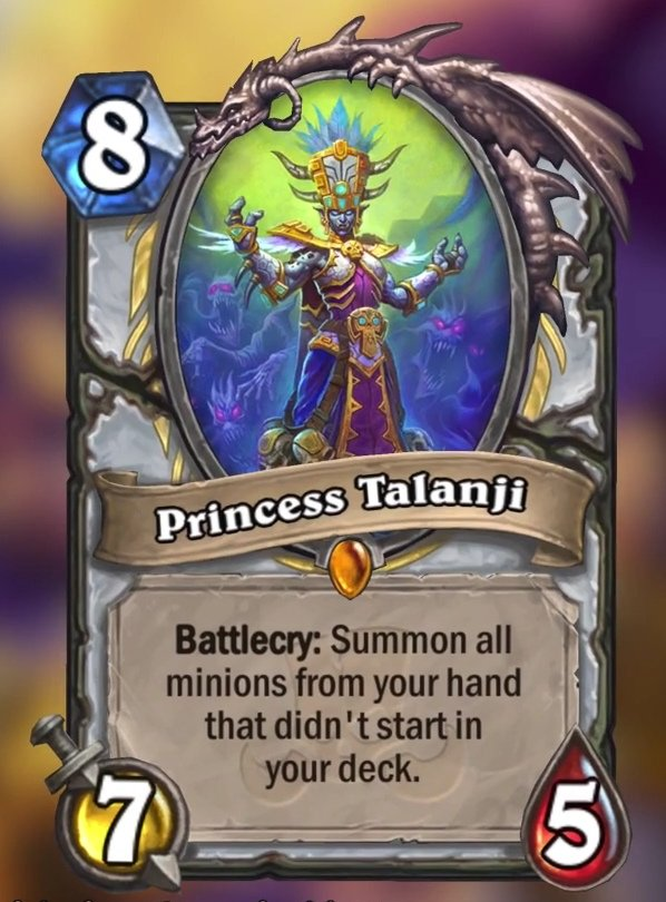 Princess Talanji Card Reveal