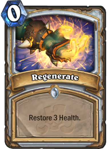 Regenerate Card Reveal