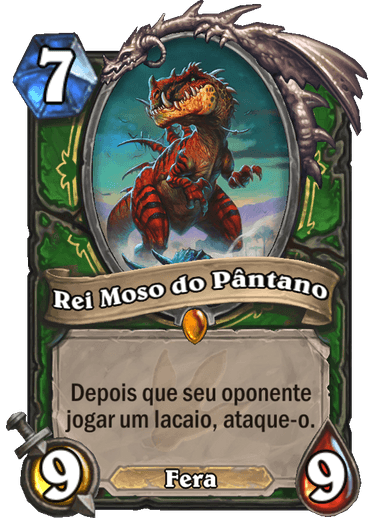 Rei Moso do Pântano Card