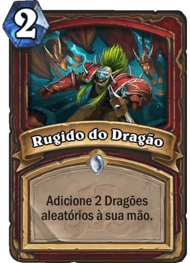Rugido do Dragão Card PTBR