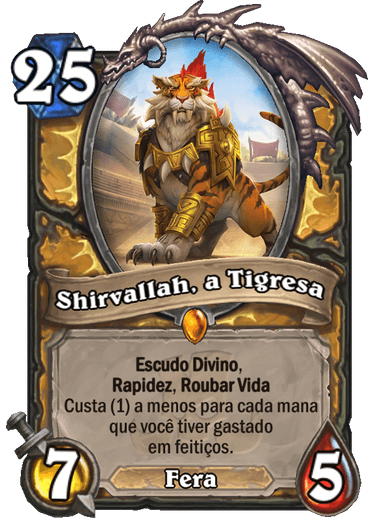 Shirvallah A Tigresa - Card