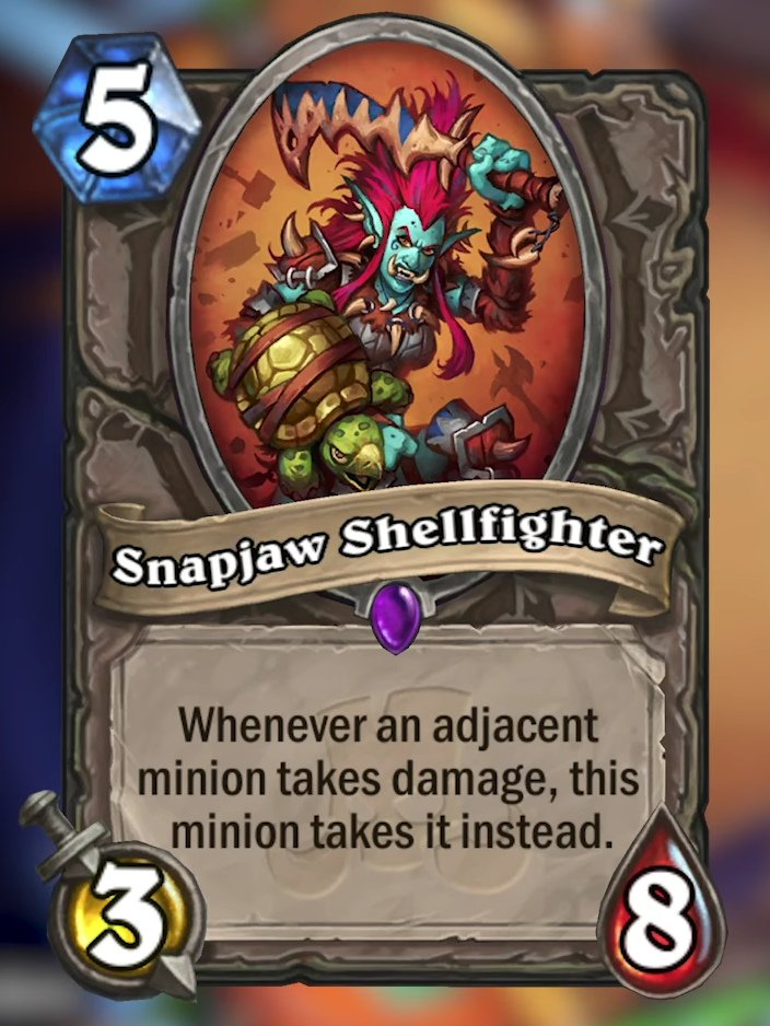 Snapjaw Shellfighter Card Reveal