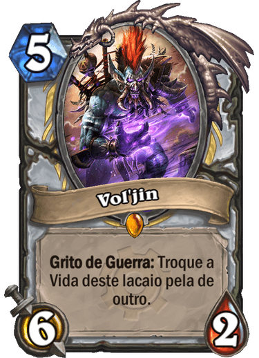 Voljin Card Hearthstone