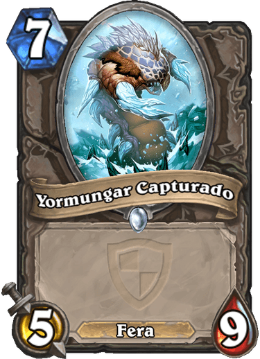 Yormungar Capturado Card
