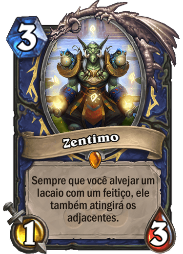 Zentimo Card - Ringue do Rastakhan
