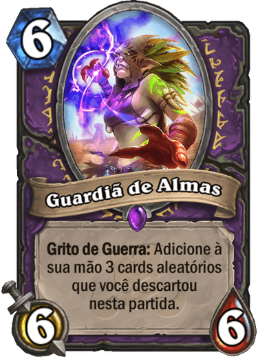 Guardiã de Almas Card