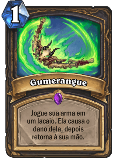 Gumerangue Card