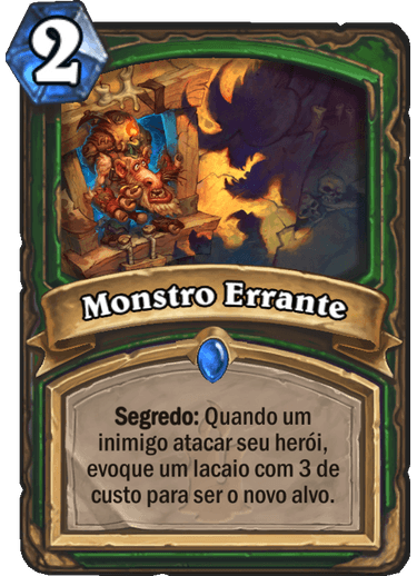 Monster Errante - Card de Hearthstone