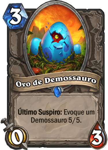 Ovo de Demossauro Card