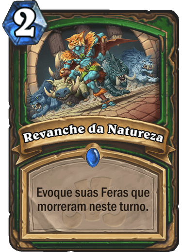 Revanche da Natureza Card
