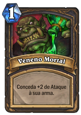Veneno Mortal Card de Hearthstone