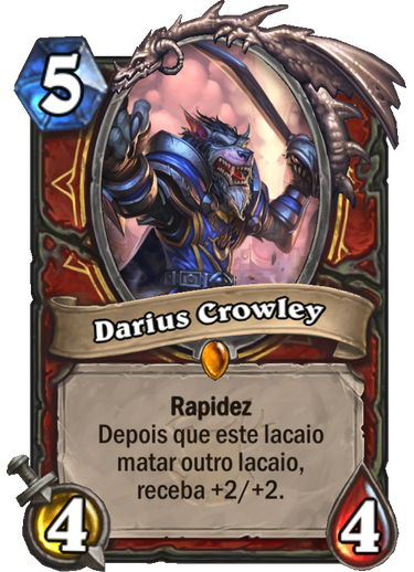 Darius Crowley - Card de Hearthstone