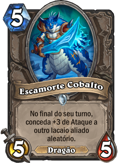 Escamorte Cobalto - Card de Hearthstone