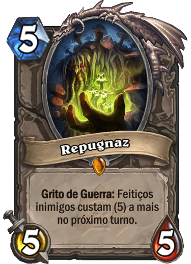 Repugnaz Card de Hearthstone 01