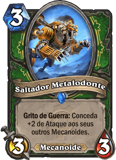Saltador Metalodonte Card