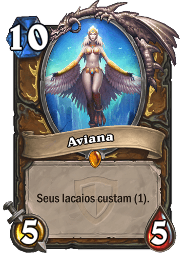 Aviana Card de Hearthstone