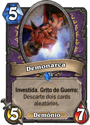 Demonarca Card PTBR