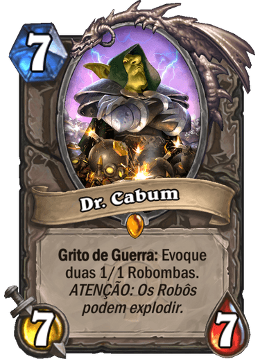 Dr. Cabum - Card de Hearthstone