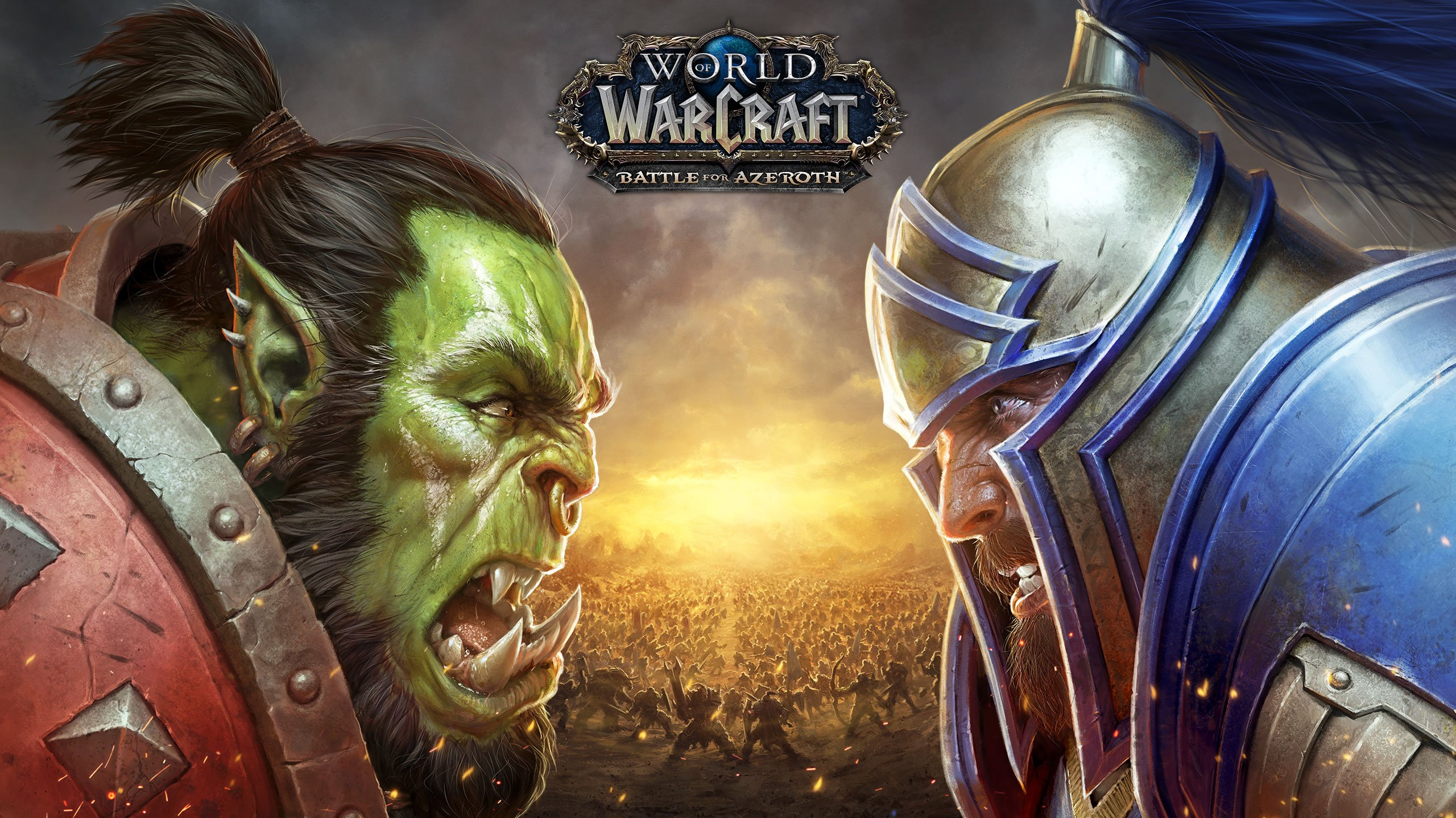 World of Warcraft Battle for Azeroth - Orc vs Humano