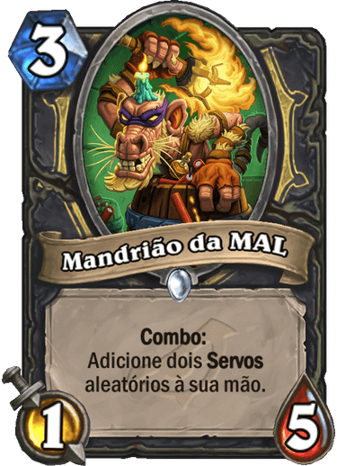 Mandrião do MAL - Card