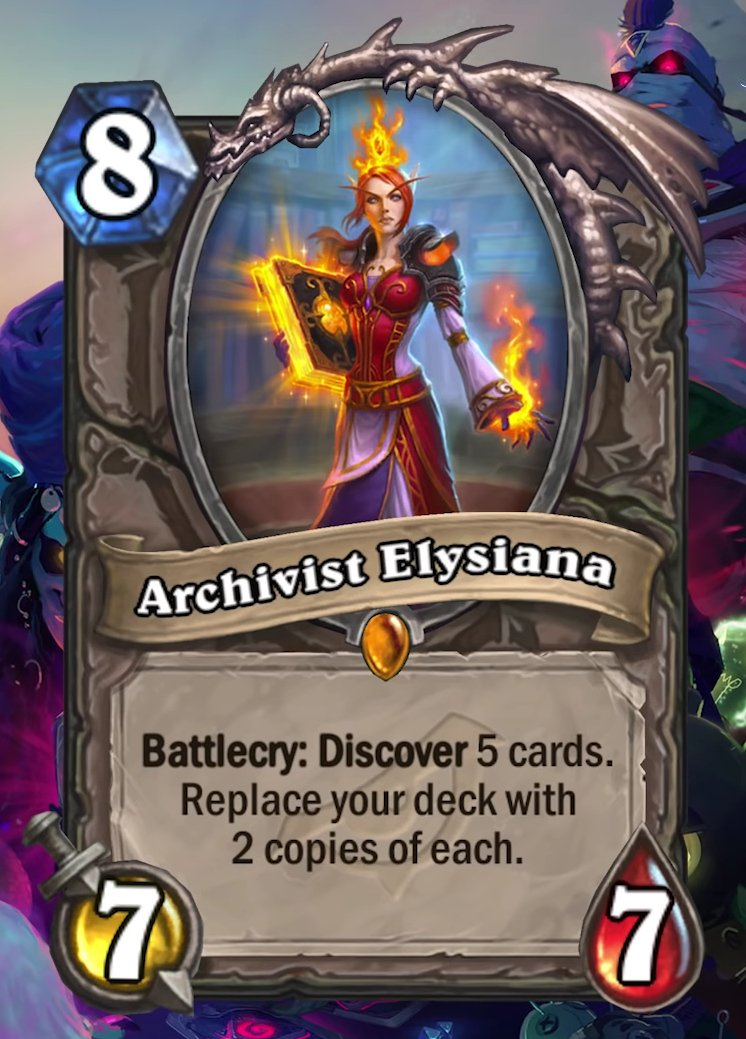 Arquivista Elysiana Card Post