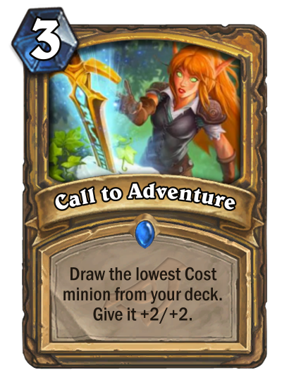 Call to Adventure Card Reveal
