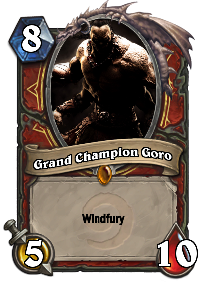 Goro Card Mortal Kombat