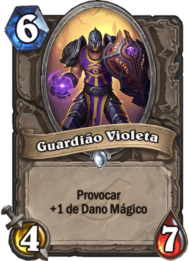 Guardião Violeta Card PTBR