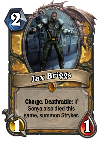 Jax Card Mortal Kombat