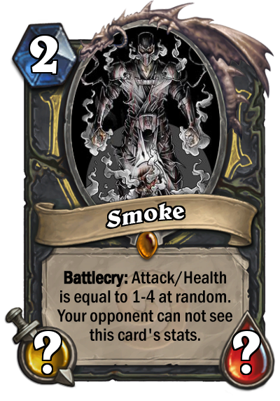 Smoke Card Mortal Kombat