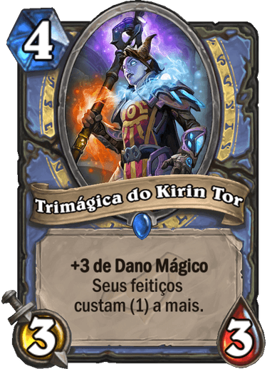 Trimágica do Kirin Tor - Card PTBR