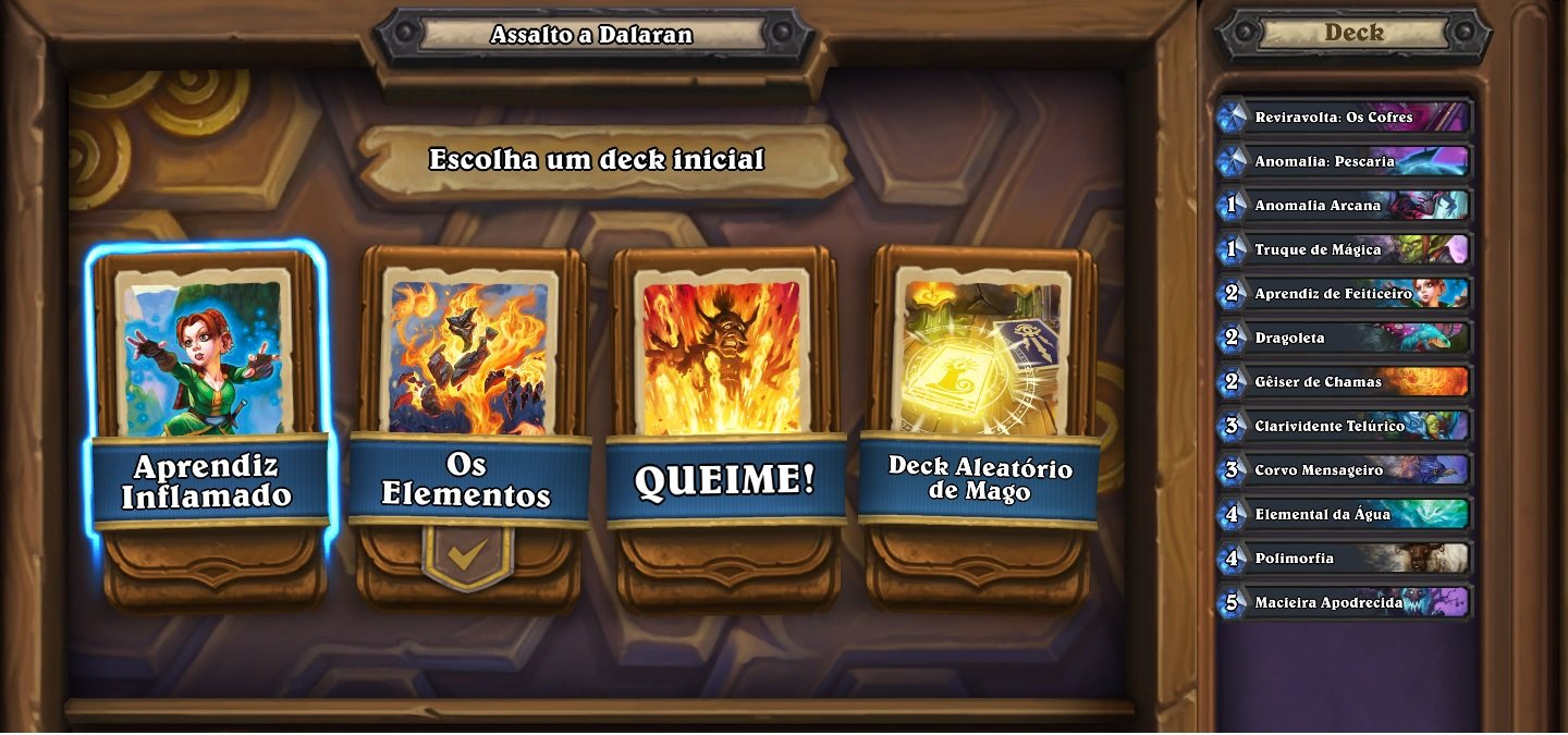 Deck do Aprendiz Inflamado