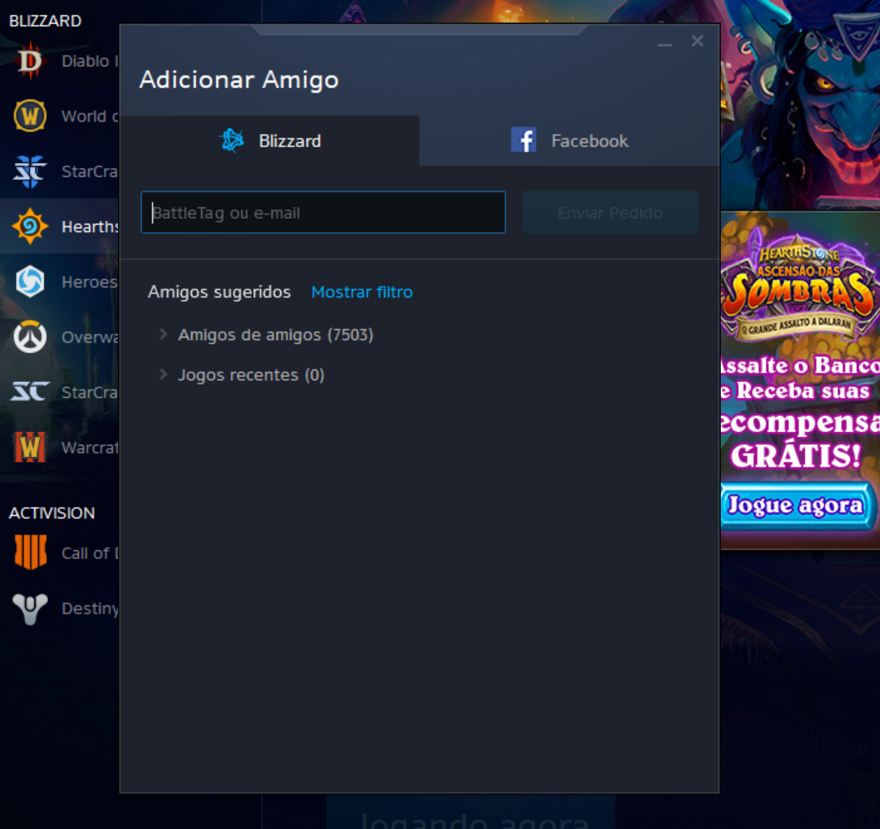 Cliente Battle.Net