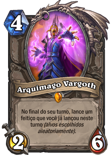 Arquimago Vargoth Card PTBR