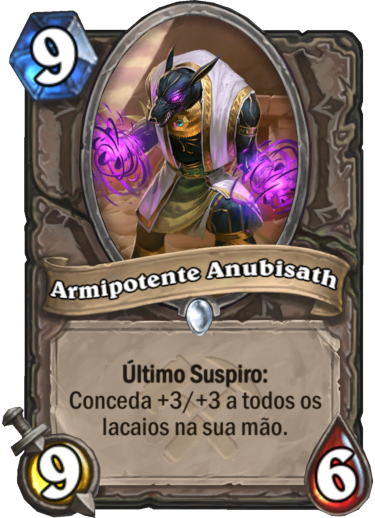 Armipotente Anubisath Card PTBR