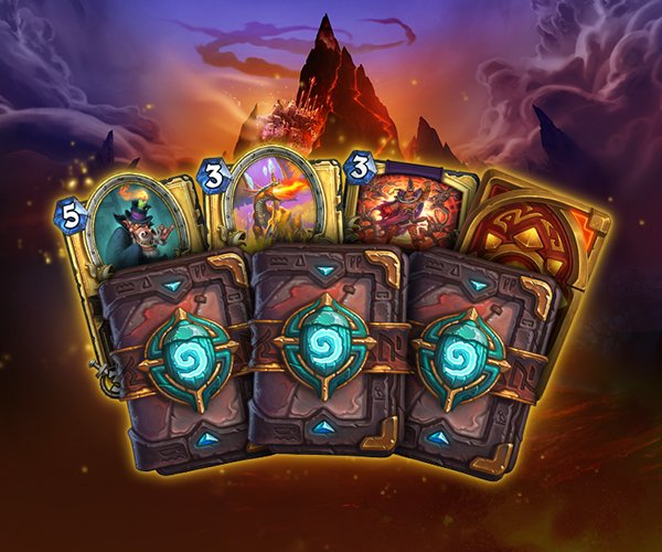 As Recompensas do evento de Hearthstone